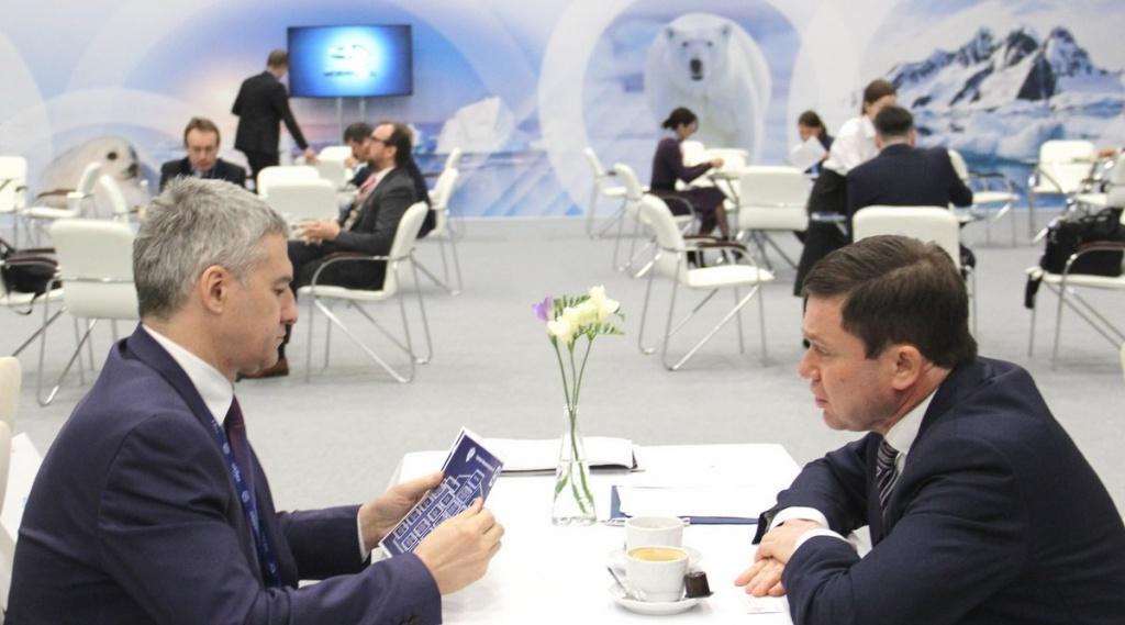 Сергей Кривоносов обсудил развитие туризма в арктической зоне Карелии с губернатором Артуром Парфенчиковым