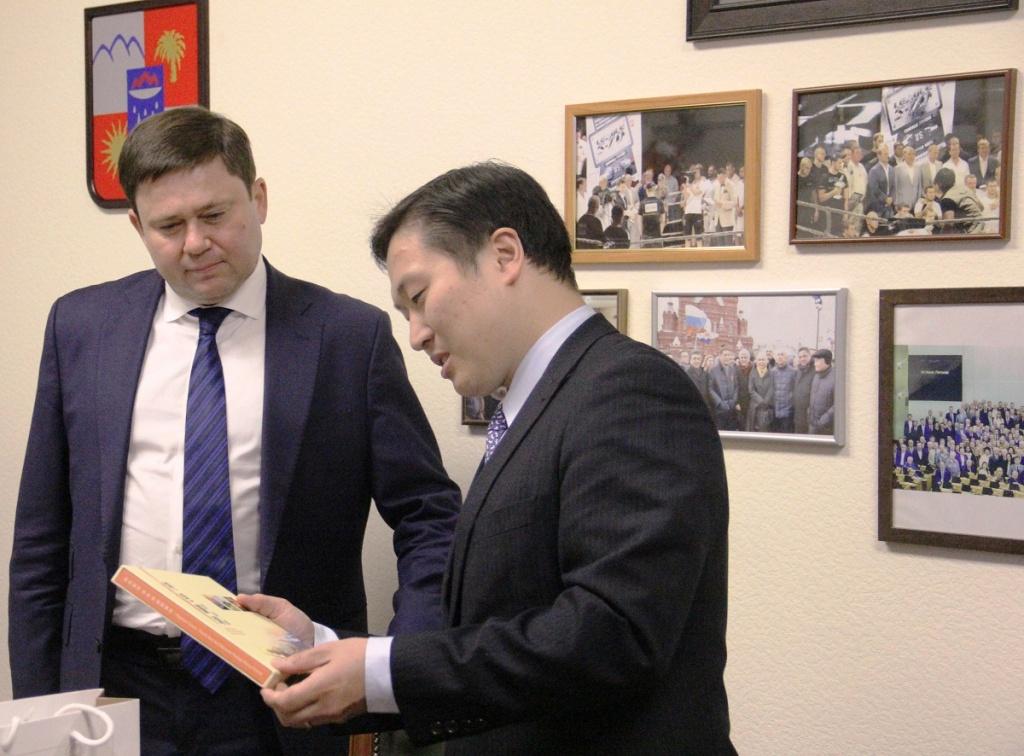 Сергей Кривоносов провёл встречу с представителями туриндустрии Тайваня