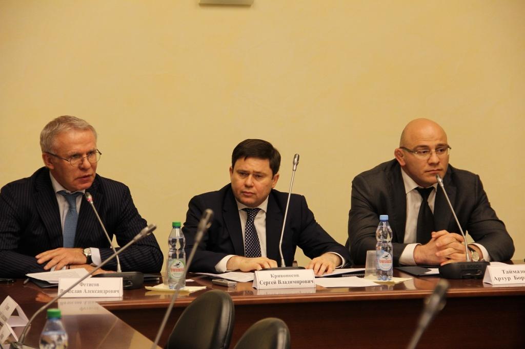 На учредительном собрании Сергей Кривоносов был избран председателем Правления Союза