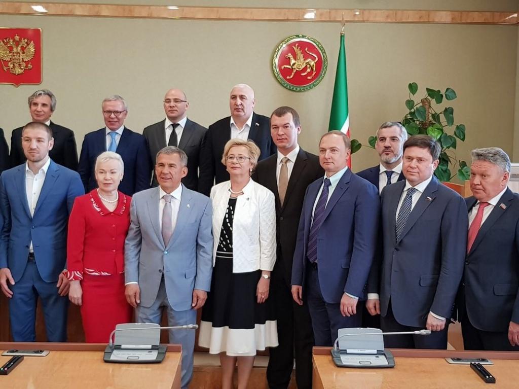Сергей Кривоносов отметил высокий уровень развития туристской инфраструктуры на встрече комитета с президентом Татарстана