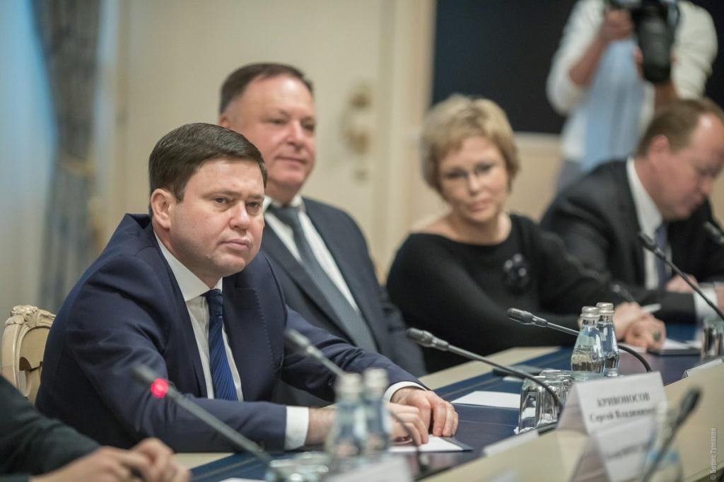 Сергей Кривоносов принял активное участие в обсуждении вопросов